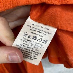 Anthropologie Skirts - Postmark Anthropologie Button Skirt